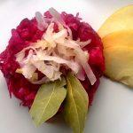Céklás savanyúkáposzta saláta