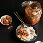 Kimchi-rizs