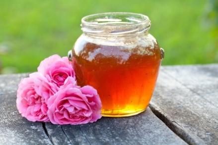 Mézes rózsaszirompép